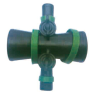 Hose Cross with Valve